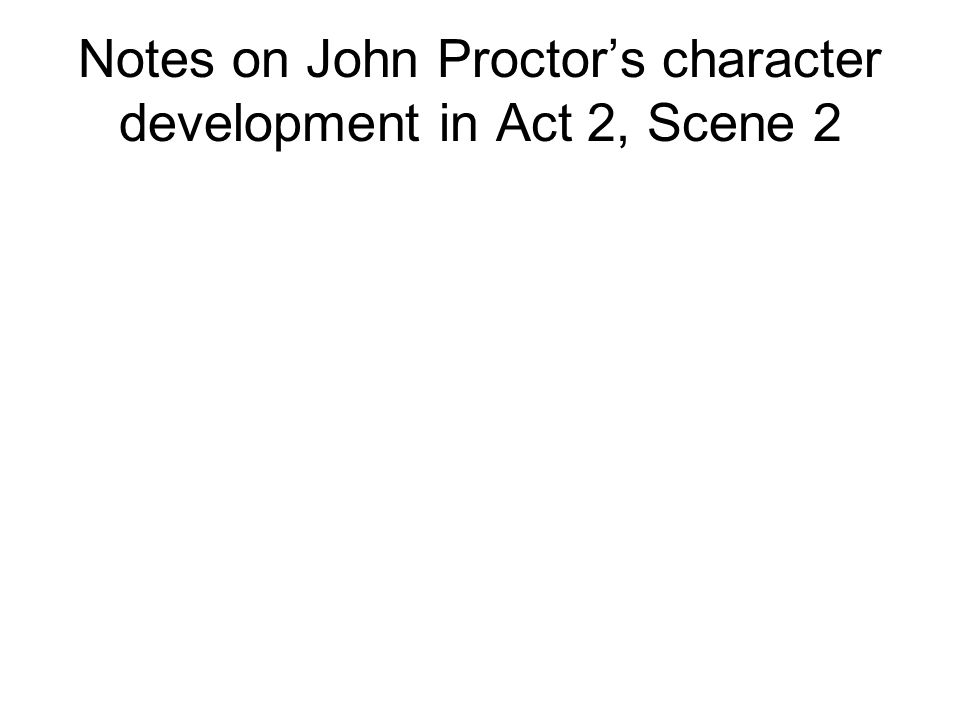 a paper on john proctors decision to die in the play the crucible