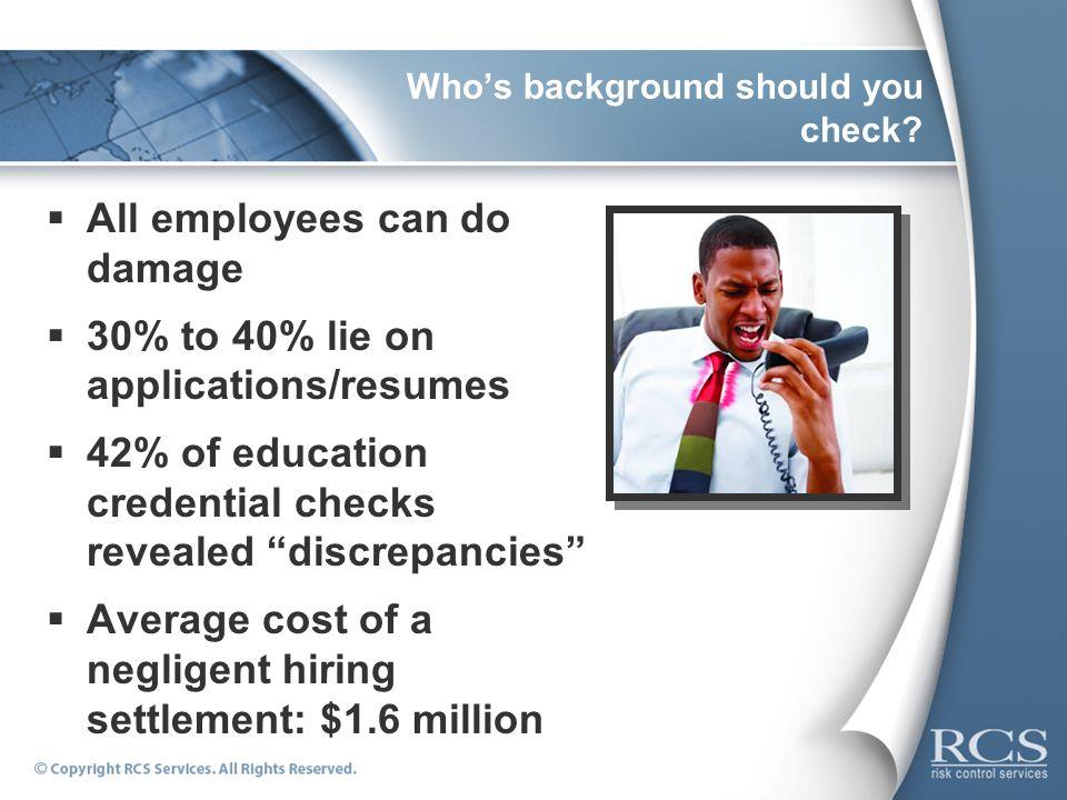 negligent hiring negligent retention ppt