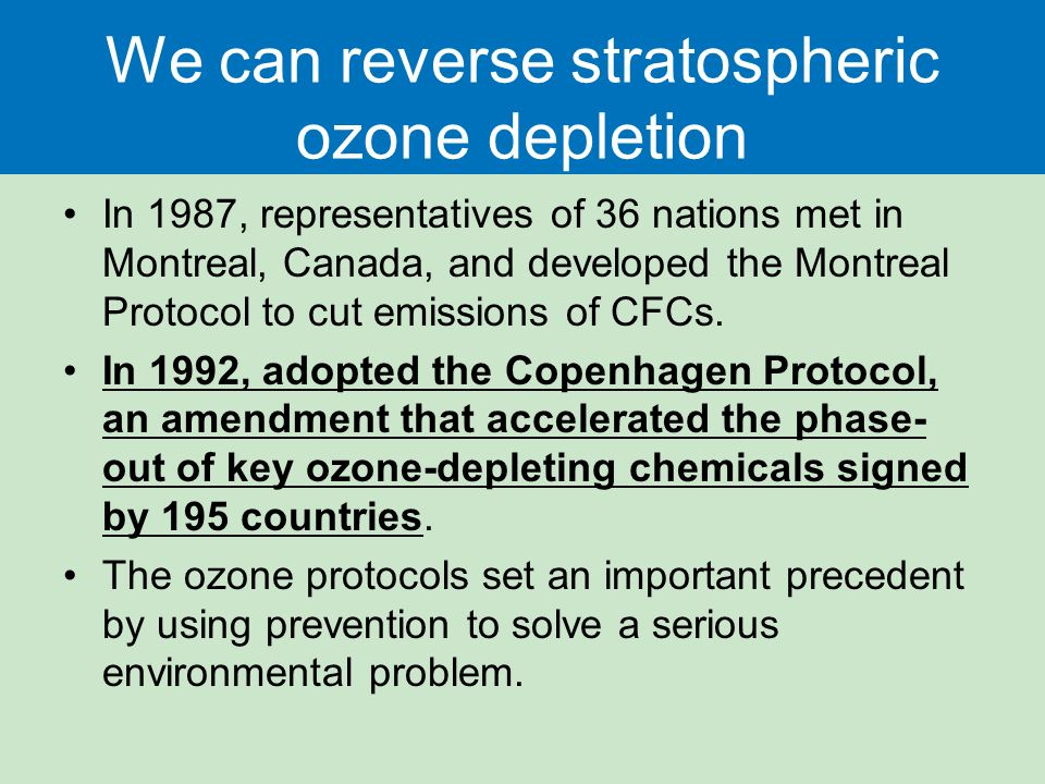 Air Pollution, Climate Disruption, and Ozone Depletion ...