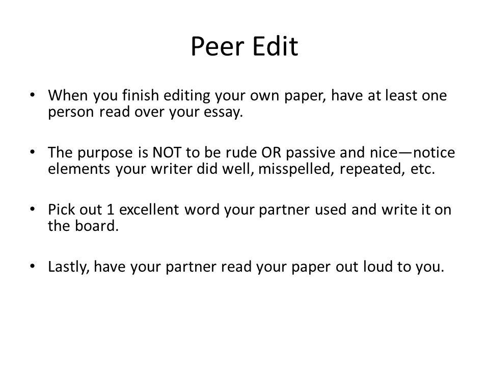 rude essays