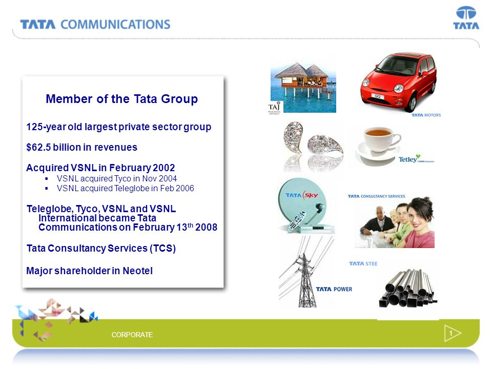 Member of the Tata Group