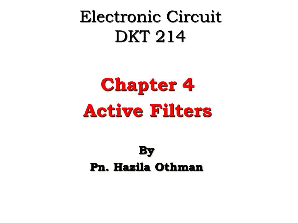 electronic circuit dkt ppt video online download