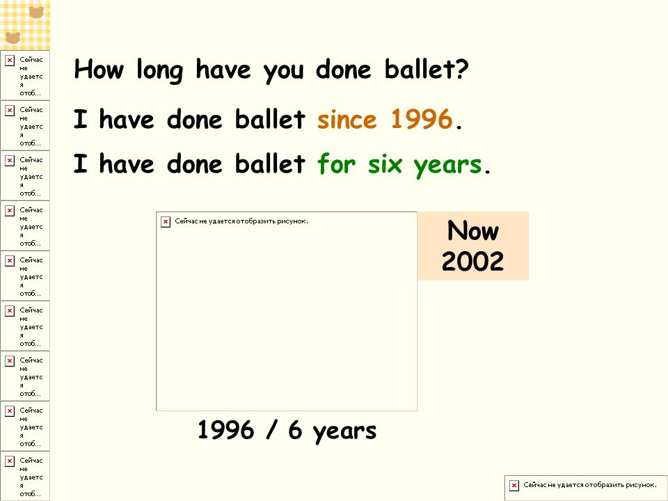 How long have you done ballet