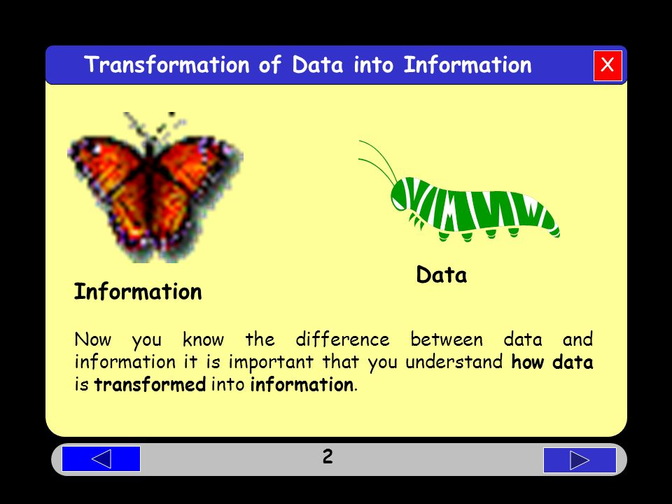 the differences between data and information Explain difference between data and information by dinesh thakur category: information technology information technology is the study, design, development, implementation, support or management of computer based information systems, particularly software applications and computer hardware.