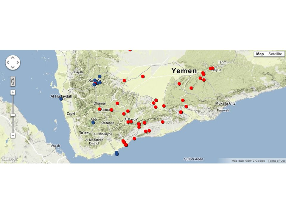 This Interactive Map Ilrates The Two Critical Elements Of The War In Yemen The Red