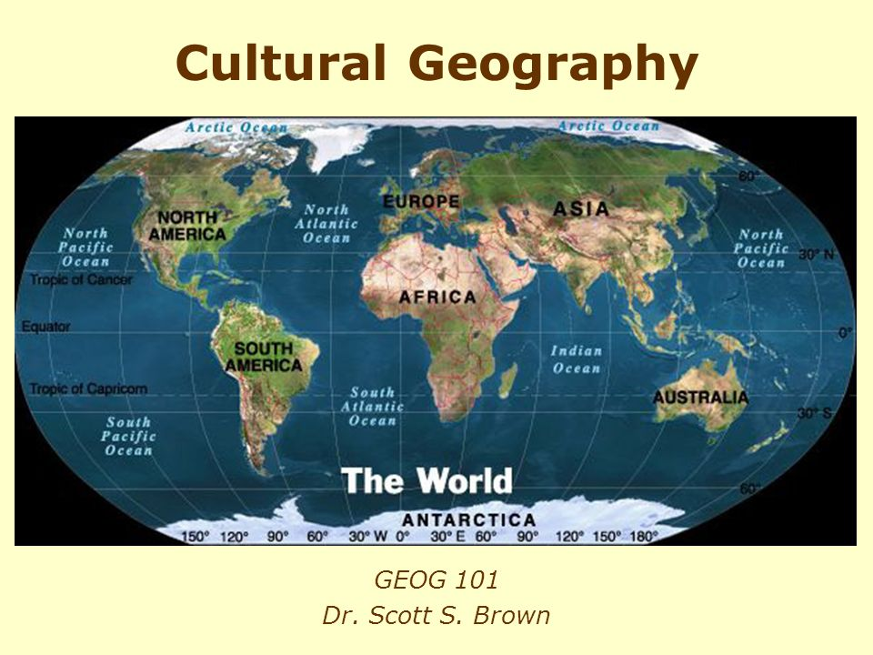 Geography and Geographic Information Science