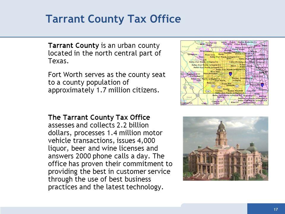 Tarrant County Property Taxes