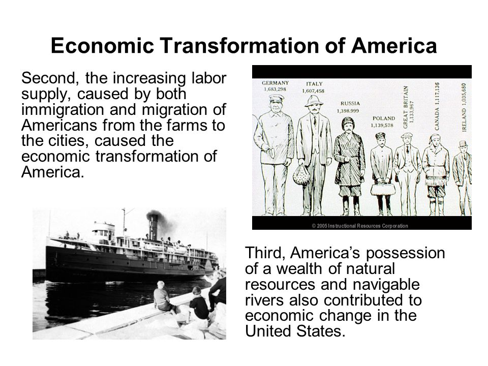 the economic transformation of america 1600 The end of the cold war: can american constitutionalism survive victory transformation of american the economic transformation of america: 1600 to the.