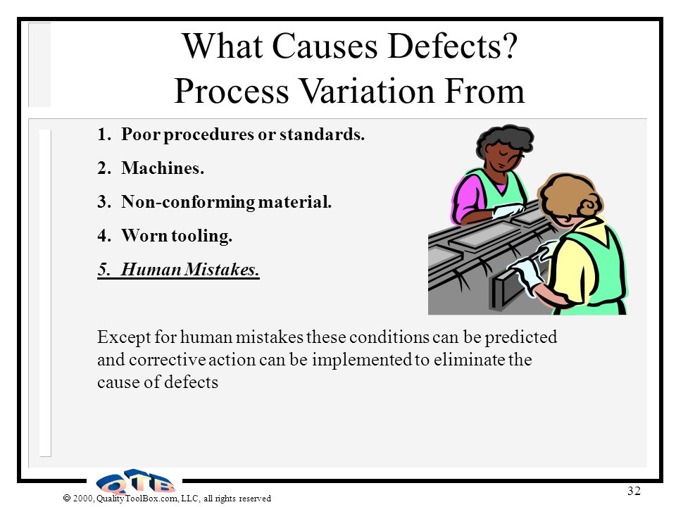 What Causes Defects Process Variation From