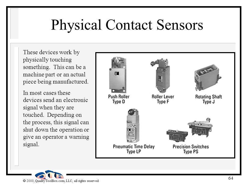 Physical Contact Sensors