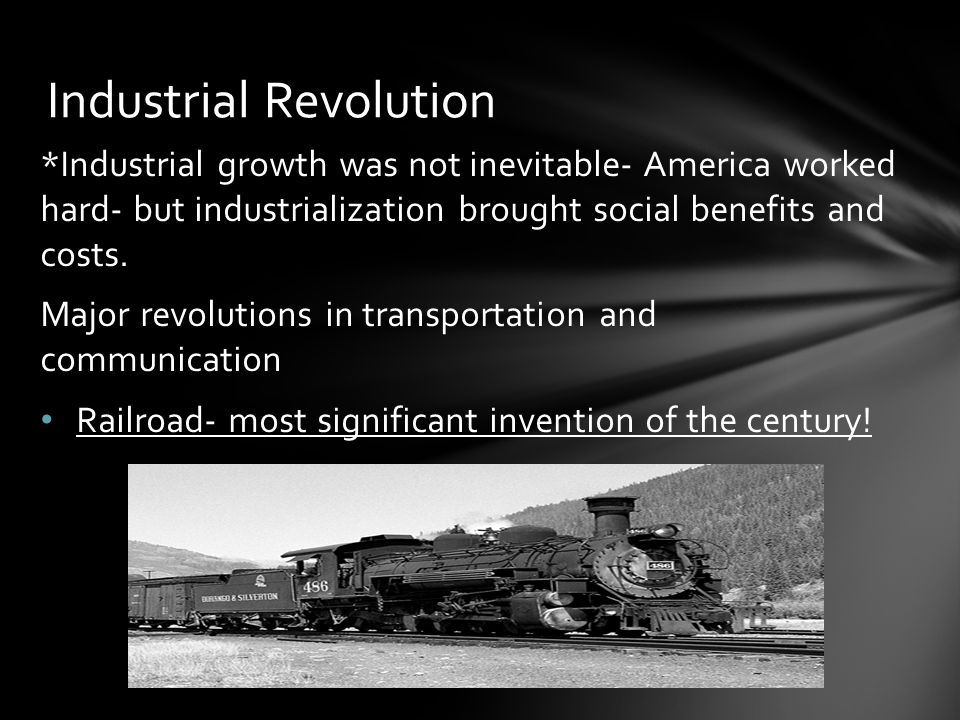 benefits of industrialization Russian industrialisation was long overdue but slow coming, kick-started by the  policies of sergei witte in the 1890s.