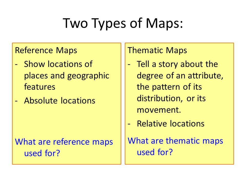 Why Do Geographers Use Maps And What Do Maps Tell Us Ppt Video - What do thematic maps show us