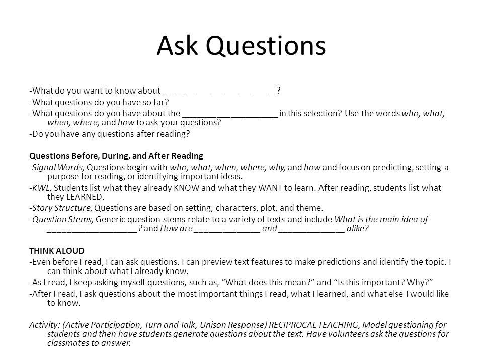 how to answer questions asking you to contrast things