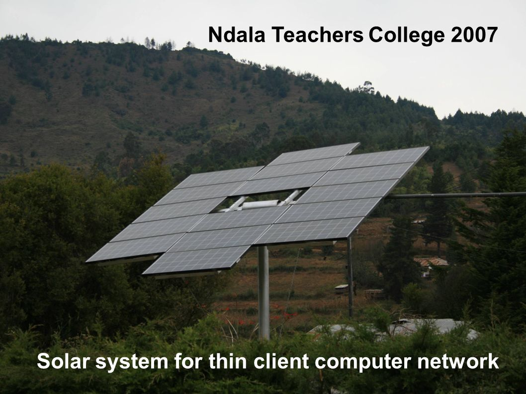 Ndala Teachers College 2007