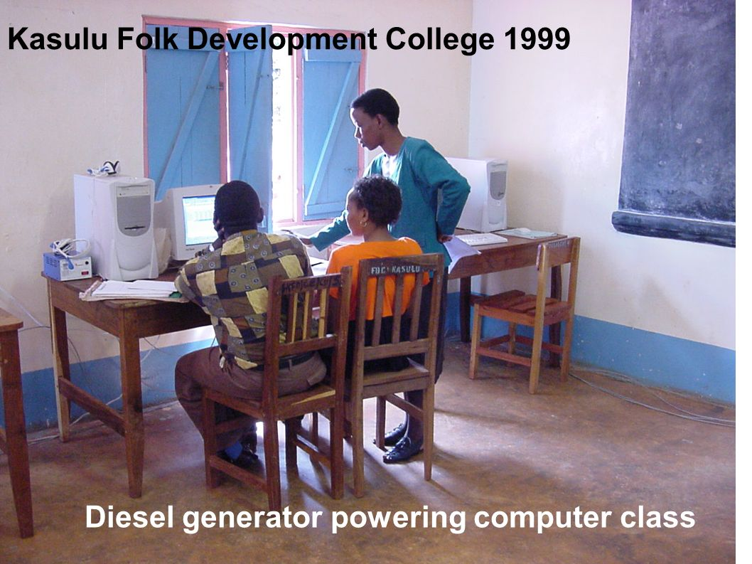 Kasulu Folk Development College 1999
