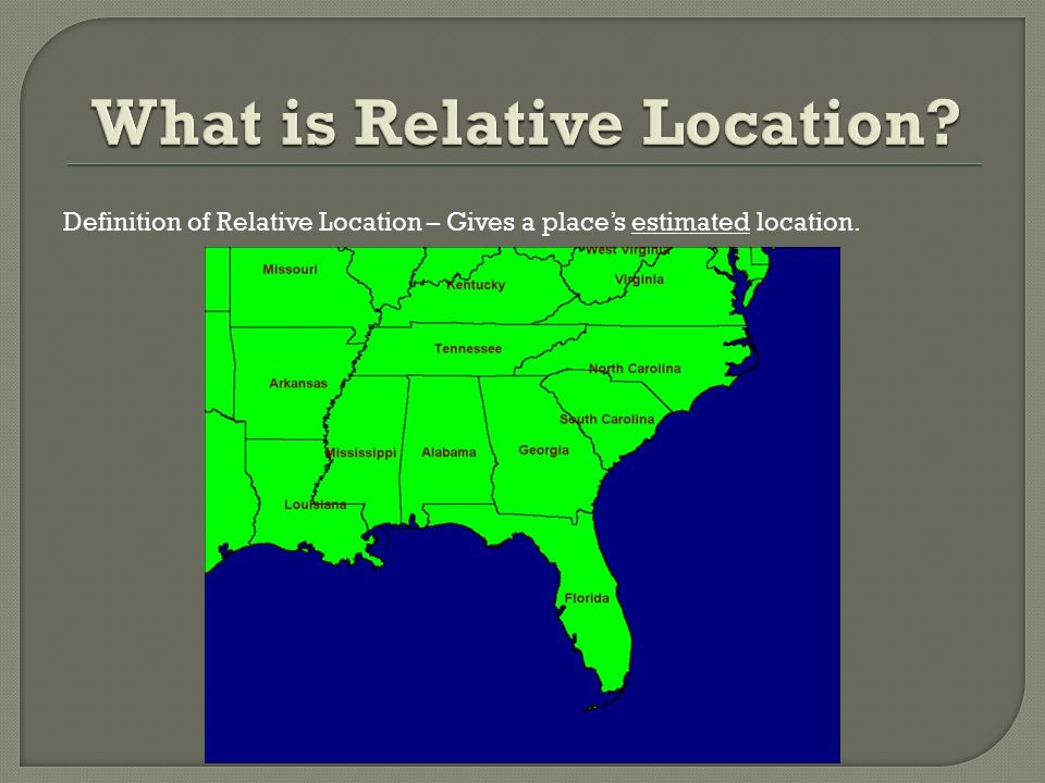 http://slideplayer.com/6998181/24/images/3/What+is+Relative+Location.jpg