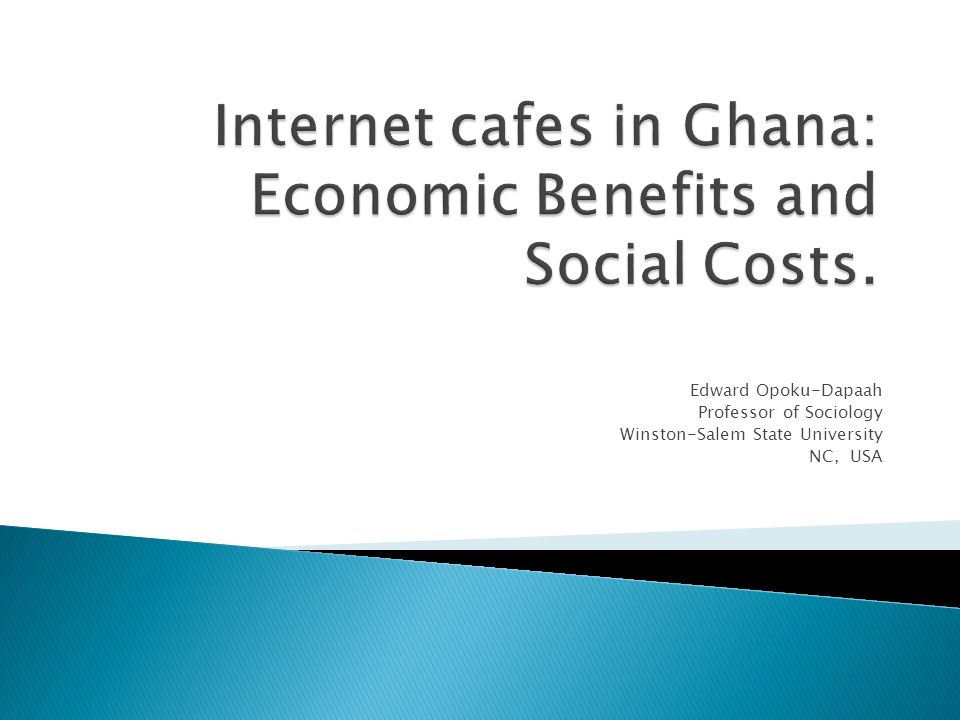 internet cafes in economic benefits and social costs ppt internet cafes in economic benefits and social costs