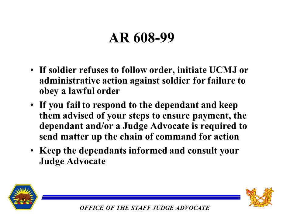 Article 92 Failure to Obey Order or Regulation
