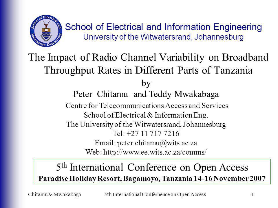 Paradise Holiday Resort, Bagamoyo, Tanzania 14-16 November 2007