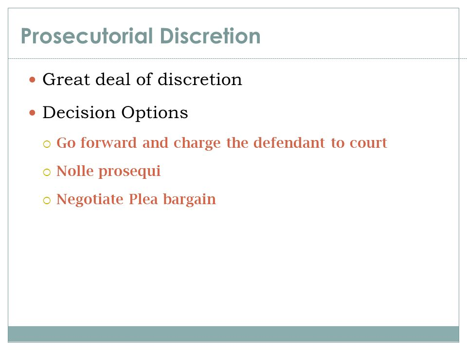 prosecutorial discretion Immigration proceedings can be difficult it is important to contact an attorney to assist in having the state use prosecutorial discretion in your favor.