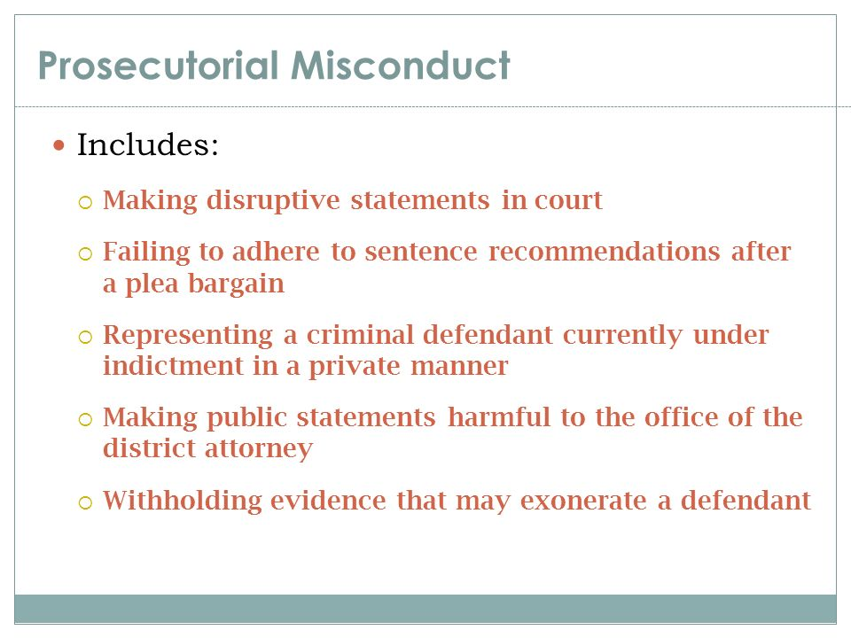 prosecutorial misconduct Posts about prosecutorial misconduct written by alan bean and mwn.