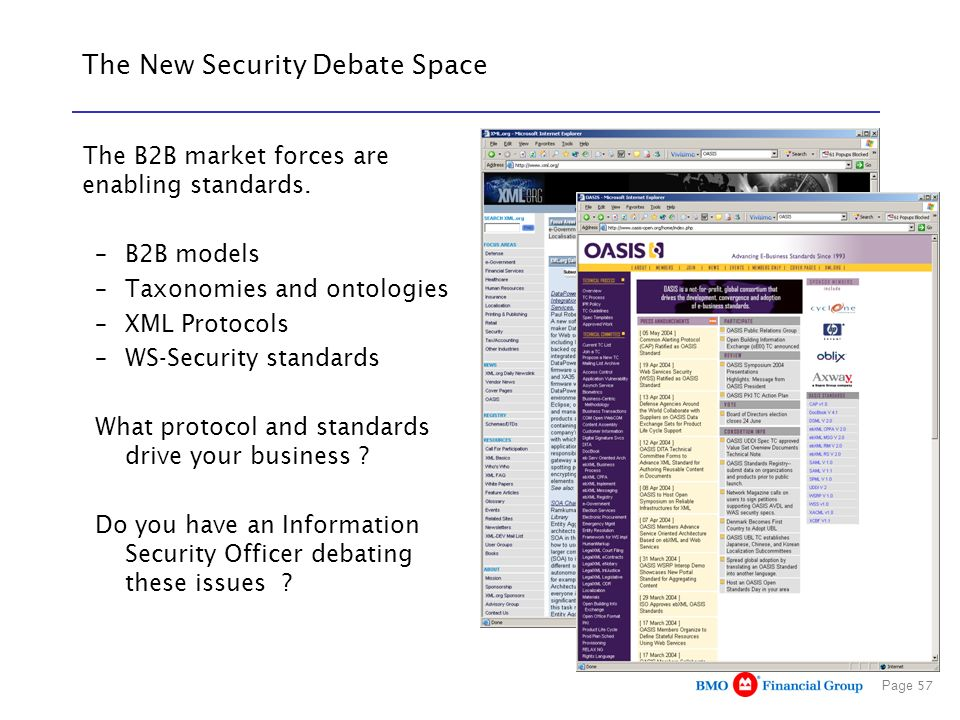The New Security Debate Space