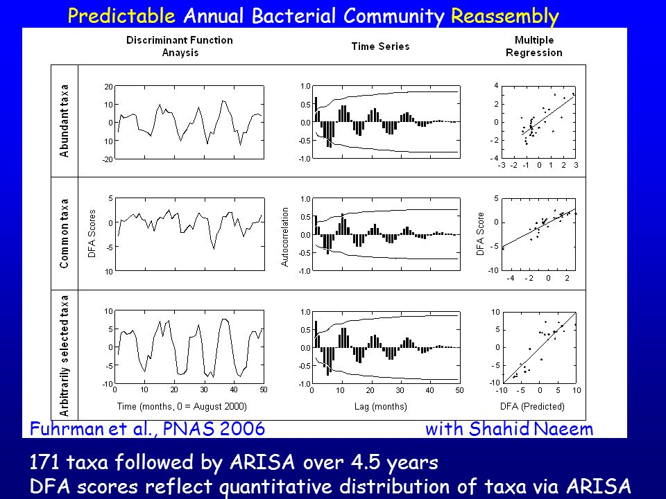 Predictable Annual Bacterial Community Reassembly