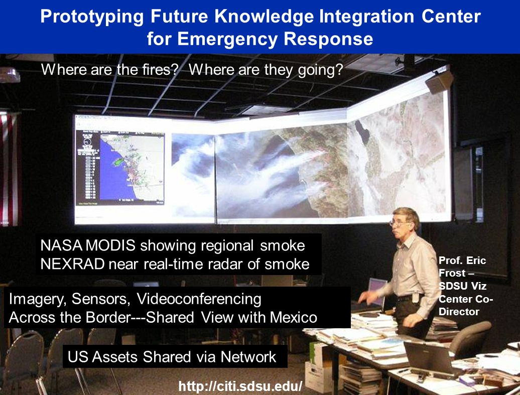 Prototyping Future Knowledge Integration Center for Emergency Response