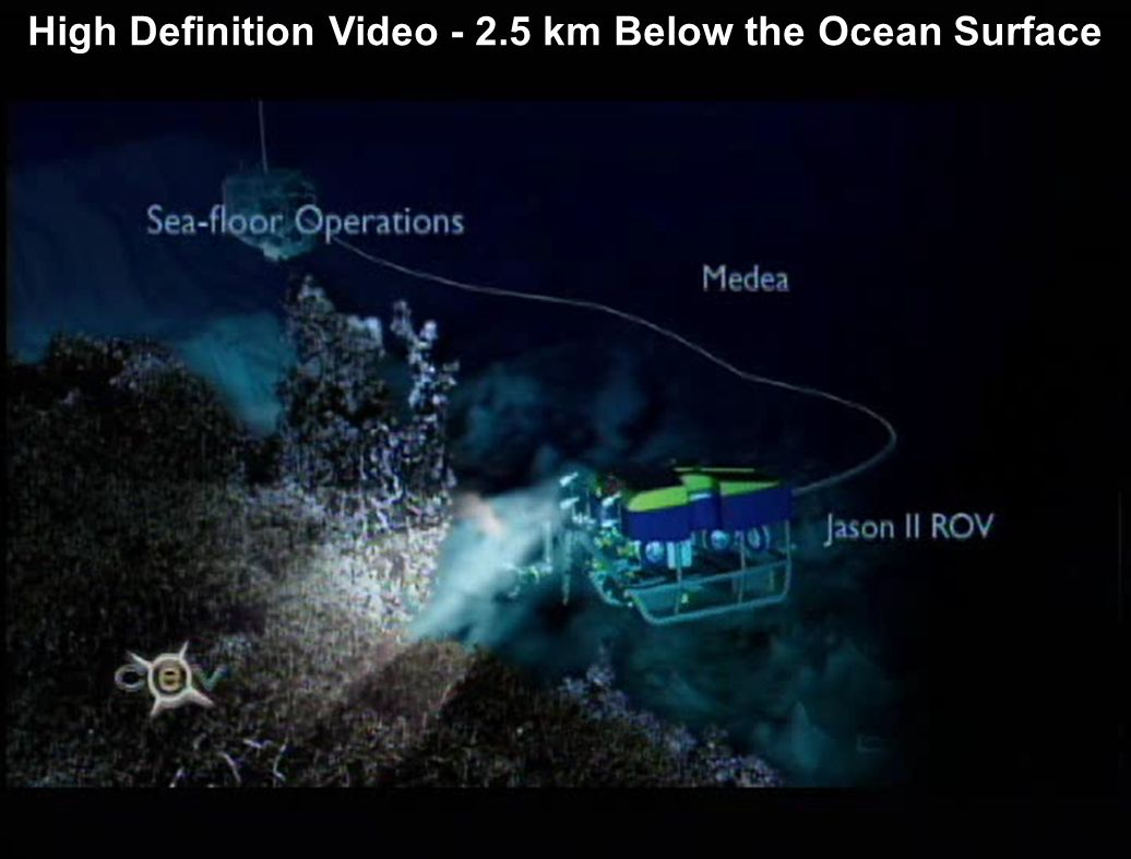 High Definition Video - 2.5 km Below the Ocean Surface