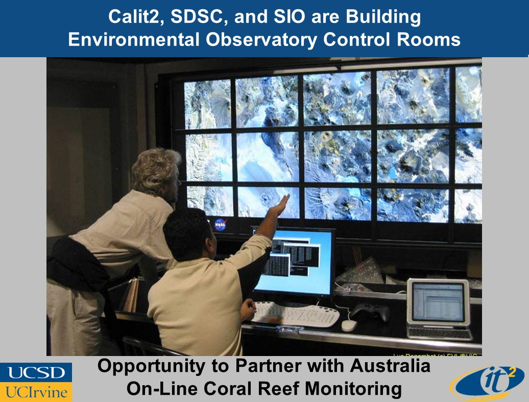 Opportunity to Partner with Australia On-Line Coral Reef Monitoring