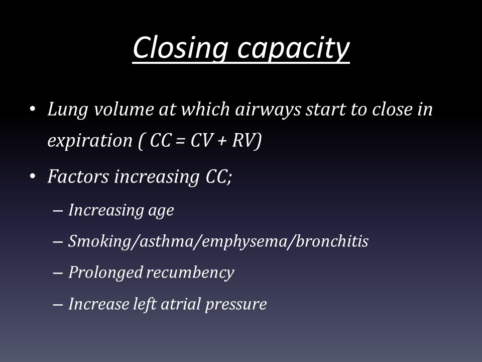 applied respiratory physiology  part 1
