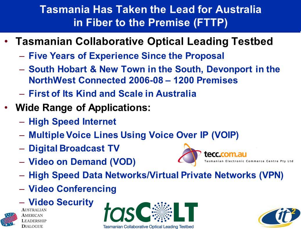 Tasmanian Collaborative Optical Leading Testbed