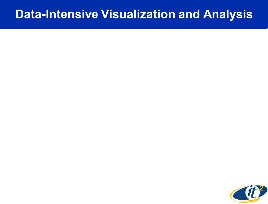 Data-Intensive Visualization and Analysis