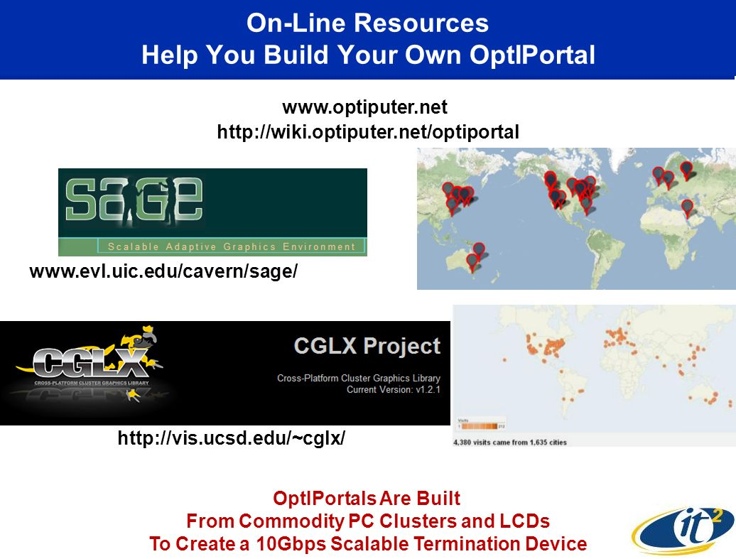 On-Line Resources Help You Build Your Own OptIPortal