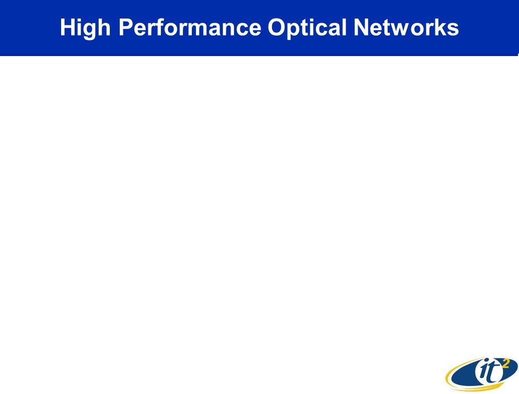 High Performance Optical Networks