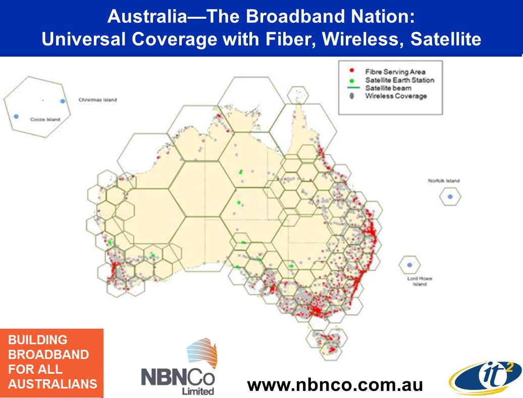 Connect 93% of All Australian Premises with Fiber