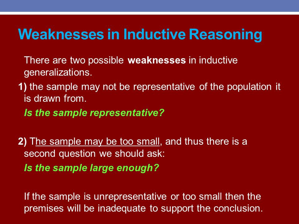 weaknesses of inductive approach Representation learning from inductive reasoning, our method is easier to apply in  a wider  one of the main limitations of classification and embed- ding based.