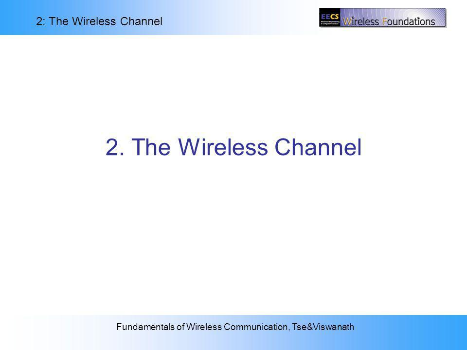 2. The Wireless Channel