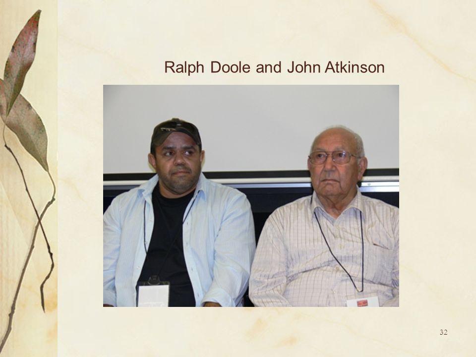Ralph Doole and John Atkinson