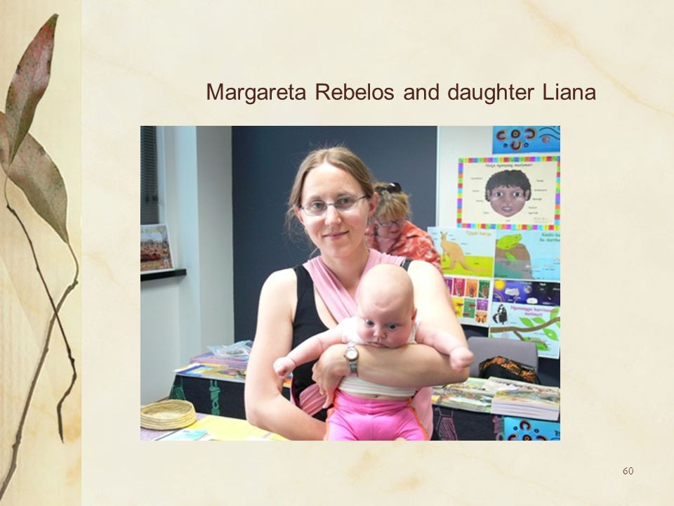 Margareta Rebelos and daughter Liana