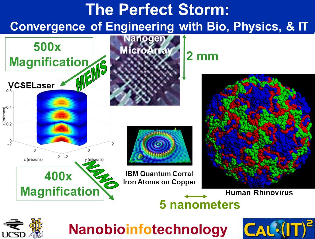 The Perfect Storm: Convergence of Engineering with Bio, Physics, & IT