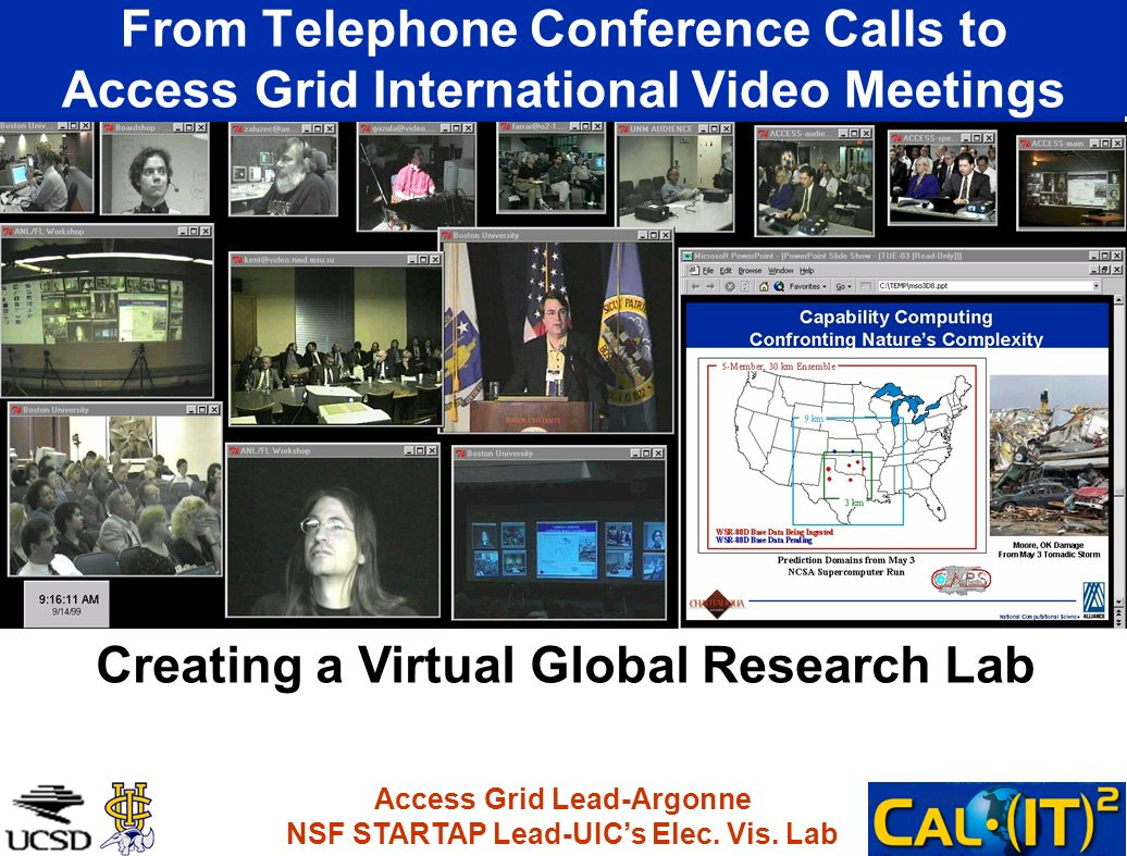 Creating a Virtual Global Research Lab