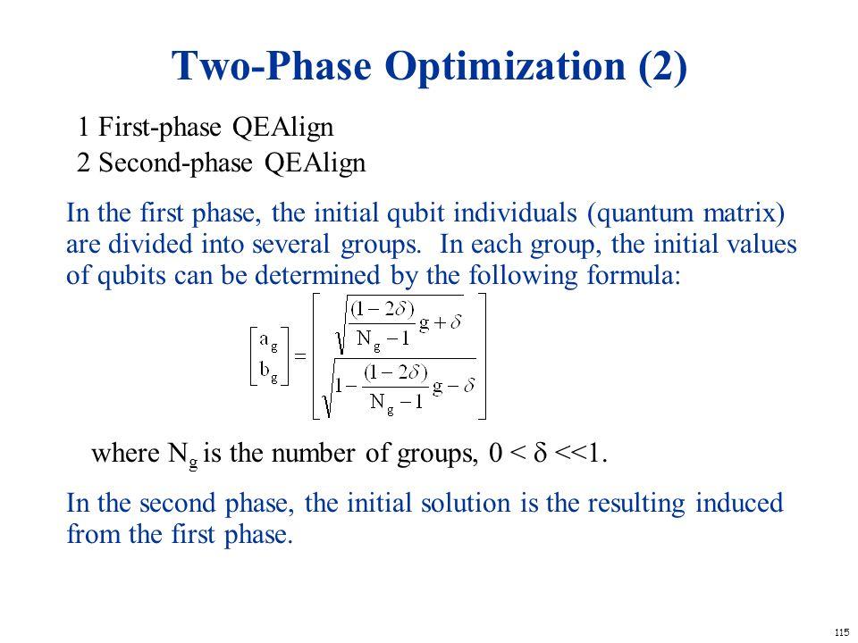 Two-Phase Optimization (2)