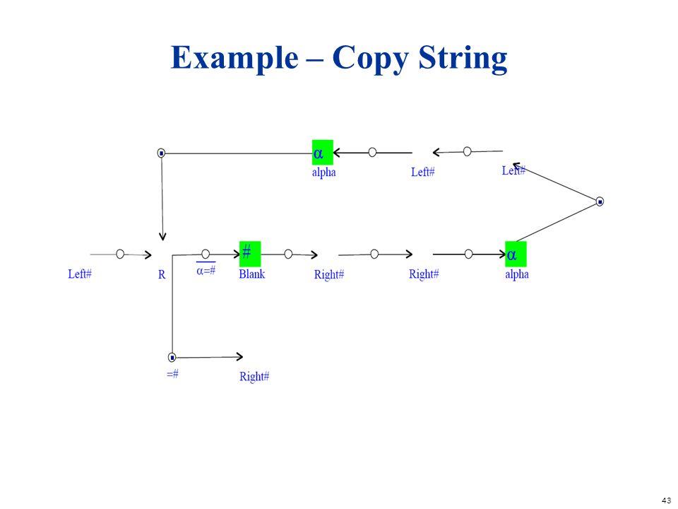 Example – Copy String