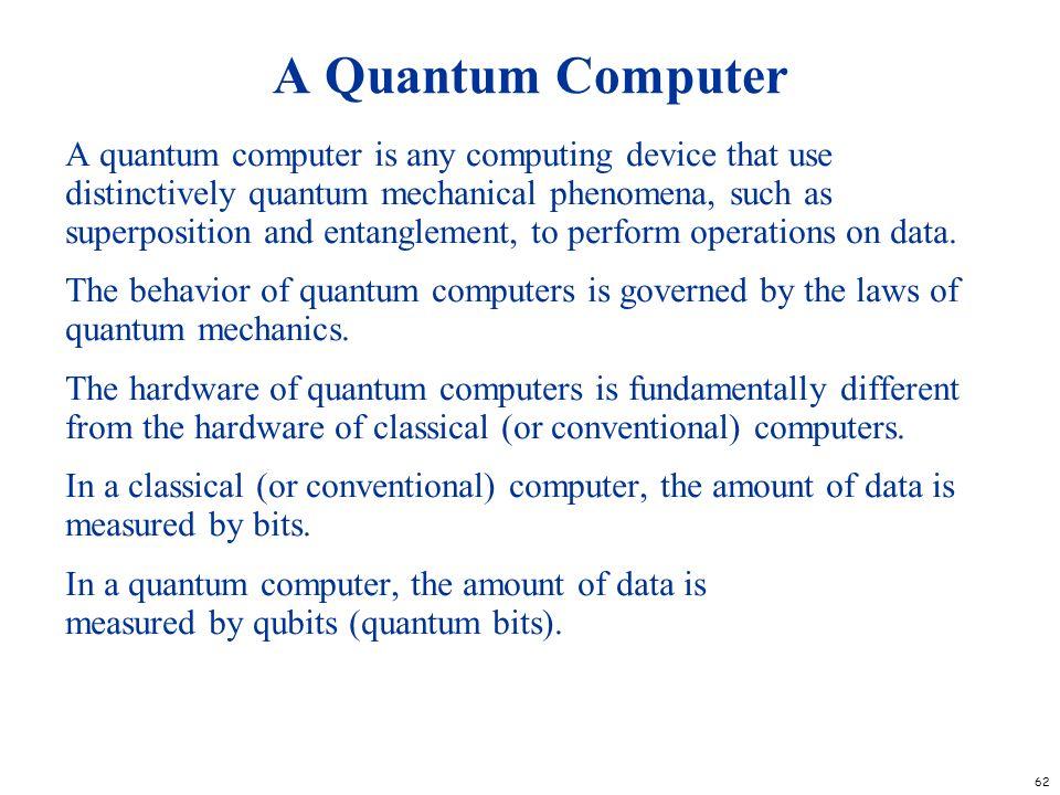 A Quantum Computer
