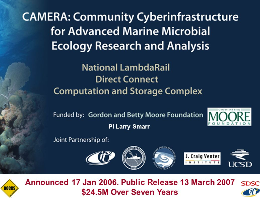Announced 17 Jan 2006. Public Release 13 March 2007