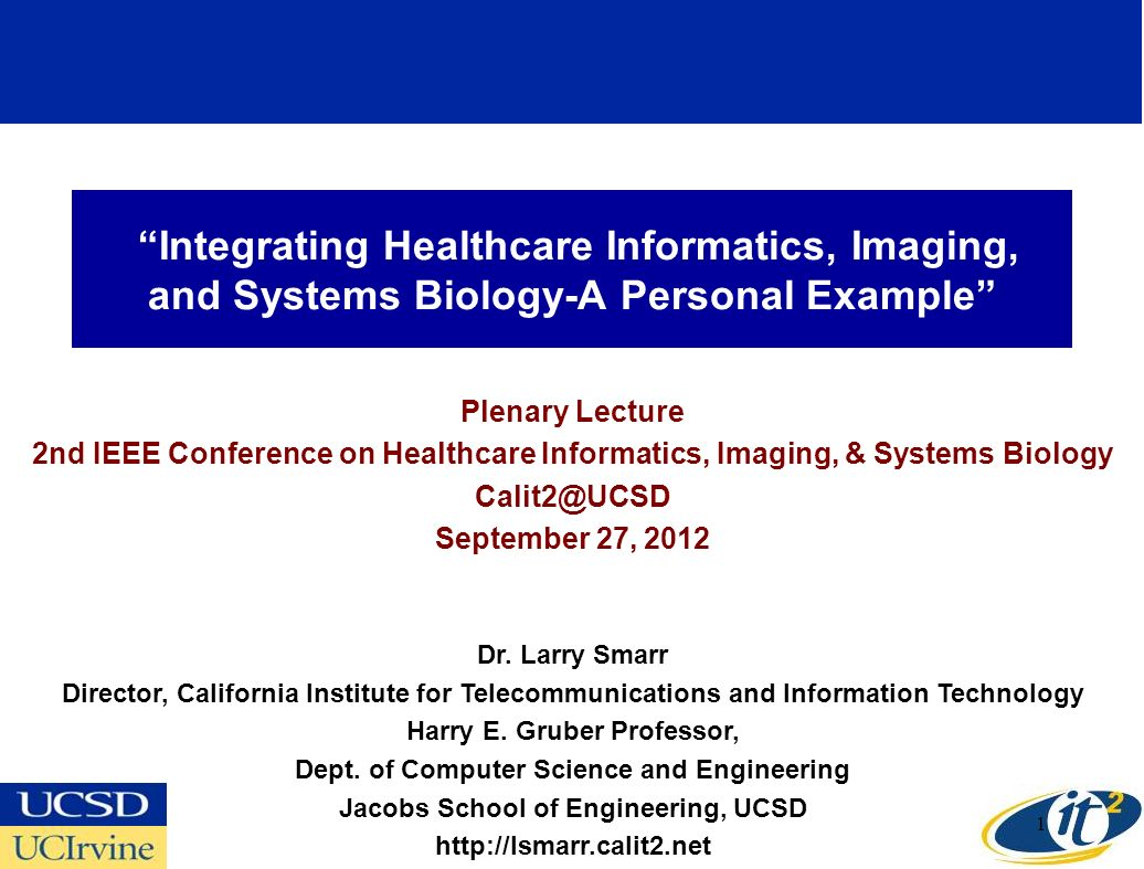 Integrating Healthcare Informatics, Imaging, and Systems Biology-A Personal Example