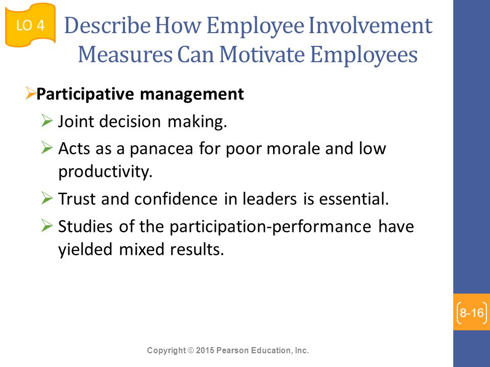 how can employee involvement contribute to What are the benefits of practicing employee involvement of practicing employee involvement of practicing employee involvement & empowerment.