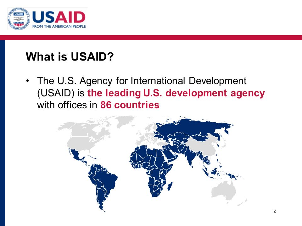 What is USAID. The U.S. Agency for International Development (USAID) is the leading U.S.