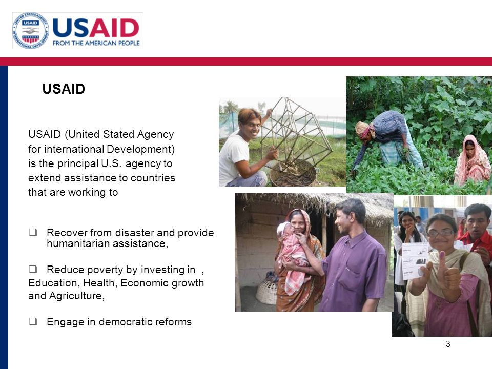 USAID USAID (United Stated Agency for international Development)